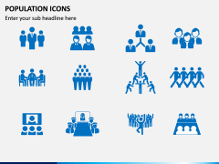 Population Icons PPT Slide 3