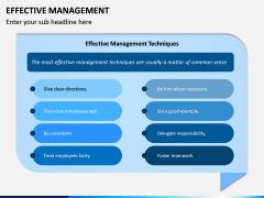 Effective Management PPT Slide 4