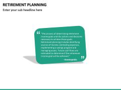 Retirement Planning PPT Slide 22