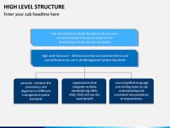High Level Structure PPT Slide 5