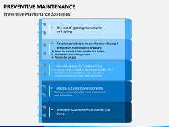 Preventive Maintenance PPT Slide 8