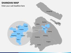 Shanghai Map PPT Slide 2