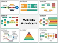 Service profit chain multicolor combined