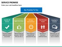 Service Promise PPT slide 13