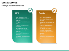 Do's and Don'ts PPT slide 16