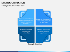 Strategic Direction PPT Slide 3
