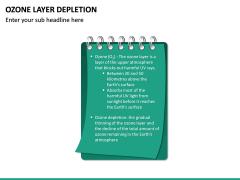 Ozone Layer Depletion PPT Slide 18