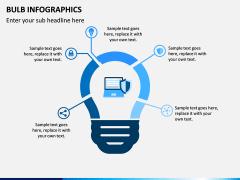 Bulb Infographics PPT Slide 10