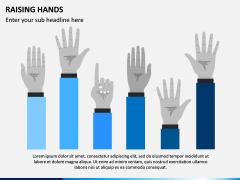 Raising Hands PPT Slide 4
