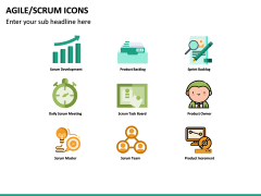 Agile SCRUM Icons PPT Slide 6