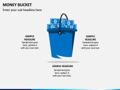 Money Bucket PPT Slide 1