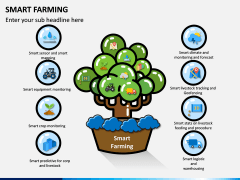 Smart Farming PPT Slide 1