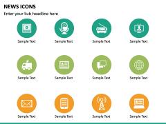 News Icons PPT Slide 12