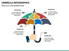 Umbrella Infographics PPT Slide 14