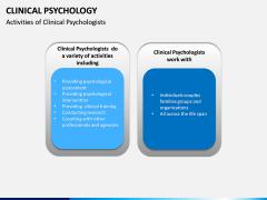 Clinical Psychology PPT slide 12