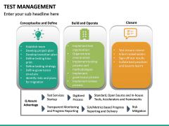 Test Management PPT slide 27