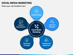 Social media marketing PPT slide 1