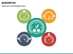 Barometer Icons PPT Slide 21