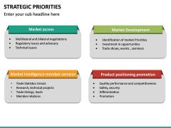 Strategic Priorities PPT Slide 22