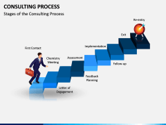 Consulting Process PPT Slide 1