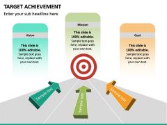 Target Achievement PPT slide 12