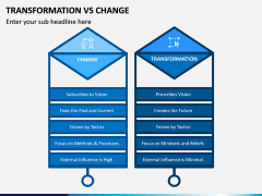 Transformation Vs Change PPT Slide 5