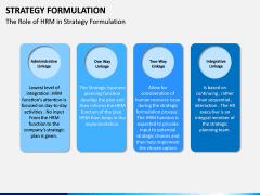Strategy Formulation PPT slide 14