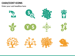 Cash Cost Icons PPT Slide 15