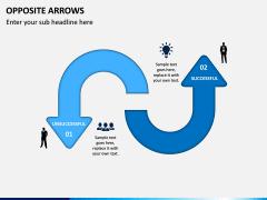 Opposite Arrows PPT Slide 4