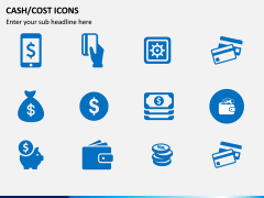 Cash Cost Icons PPT Slide 10