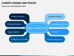 Climate Change and Health PPT Slide 9
