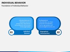Individual Behavior PPT Slide 3