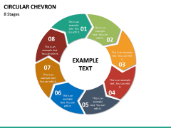 Circular Chevron PPT Slide 23