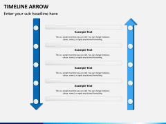 Timeline arrow PPT slide 7