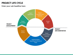 Project life cycle PPT slide 44
