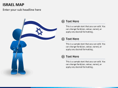 Israel Map PPT slide 21