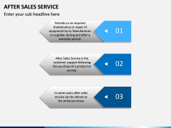 After Sales Service PPT slide 7