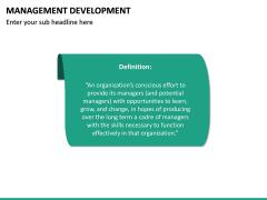 Management Development PPT slide 18