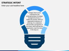 Strategic Intent PPT Slide 1