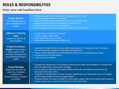 Roles and Responsibilities PPT Slide 20