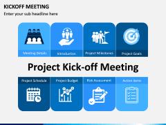 Kickoff Meeting PPT slide 1