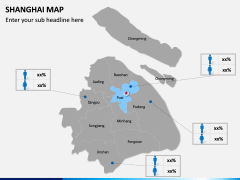 Shanghai Map PPT Slide 9