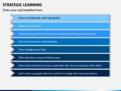 Strategic Learning PPT Slide 12