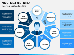 About Me / Self Intro PPT Slide 1