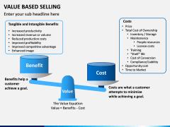 Value Based Selling PPT Slide 4