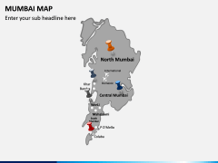 Mumbai Map PPT Slide 3