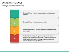 Energy Efficiency PPT Slide 33
