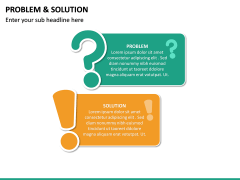 Problem and Solution PPT Slide 31