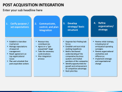 Post Acquisition Integration PPT Slide 14