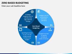 Zero Based Budgeting PPT Slide 1
